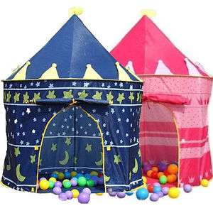 Children's Kids Castle Play Tent Playhouse with Carry Case, Wizard or Princess £9.45 delivered or free c&c babyworld3000 / Ebay