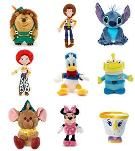 Disney Mini Bean Bags (was £8) Now £5  + FREE Personalisation / Disney T- Shirts (was £10) Now £5.00 @ Shop Disney