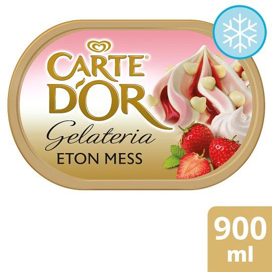 Carte D'or Ice Cream 1lt range and Eton Mess 900ml £2 @ Tesco