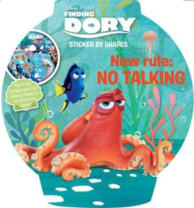 "Finding Dory // Thomas & Friends ""Sticker By Shapes"" Activity Books 29p Each @ HomeBargains"