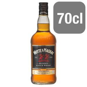 Whyte And Mackay Scotch Whisky 70Cl only £12 @ Tesco