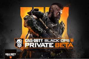 Call of Duty®: Black Ops 4 Multiplayer with a free Private BETA code on PlayStation 4 and Xbox One @ O2 Priority