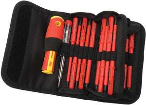 Draper 5776 Interchangeable Insulated Screwdrivers (18 Pieces) £23.99 Amazon