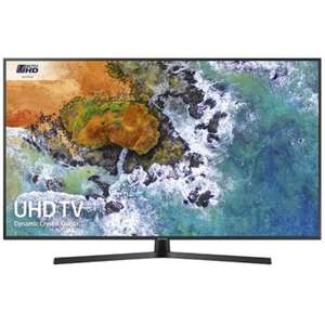 """Samsung 2018 range 43"""" 4k UHD smart TV UE43NU7400 only £418 at Peter Tyson (and John Lewis price match for 5 year guarantee)"""