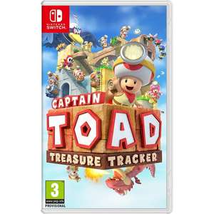 Captain Toad Treasure Tracker (Nintendo Switch) £26.81 w/code @ 365games