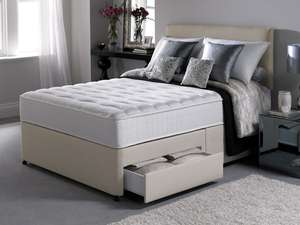4ft6 Double Silentnight Essentials Pocket 1000 Mattress only - free next day delivery £207.99 The Sleepshop