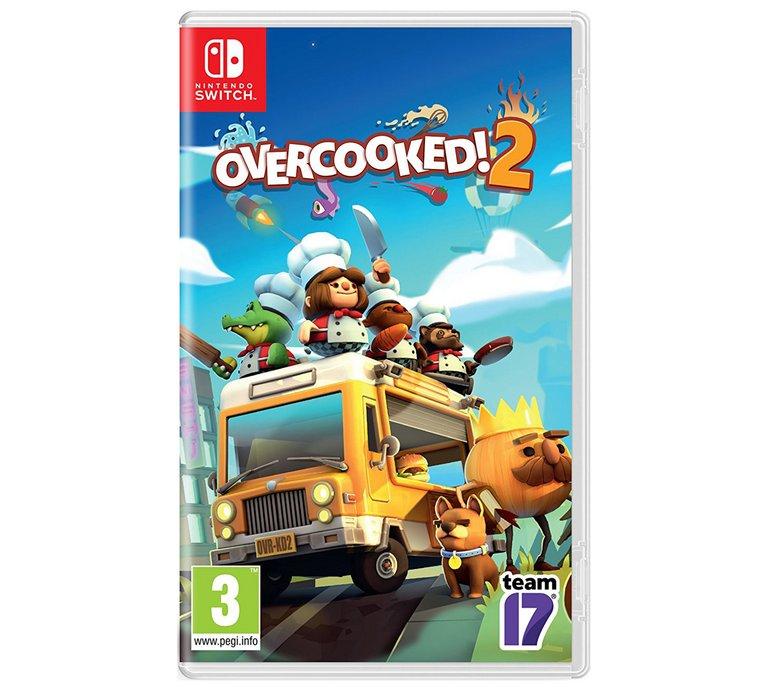 Overcooked 2 for Nintendo Switch £24.99 Argos