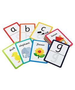 My Alphabet Writing Cards -26 double sided flash wipe clean cards & pen  £2.50 from Early Learning Centre Free C&C @ ELC