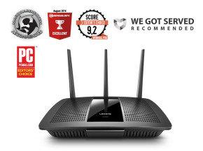 Linksys  EA7500  Max-Stream Dual Band AC1900 Gigabit Smart WI-FI Router - £49.97 @ Ebuyer