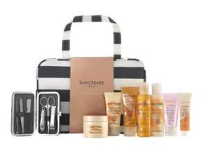 Sanctuary Spa Take me Away beauty bag with manicure kit & 7 pamper products was £25 now £18 @ Boots