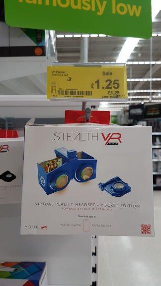 Stealth pocket VR headset £1.25 @ Asda