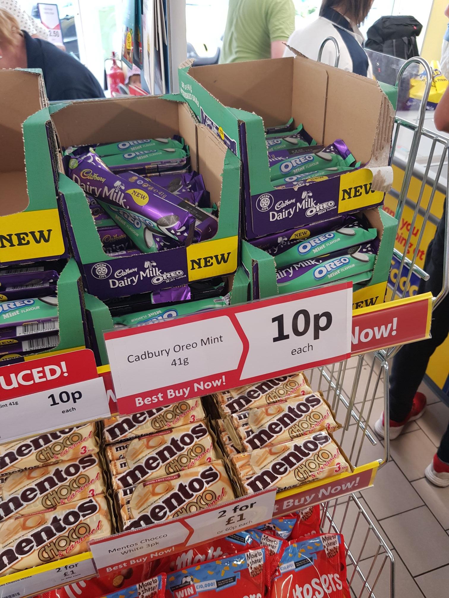 Cadbury Oreo Mint 41g - 10p Herons
