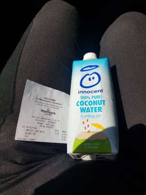 INNOCENT COCONUT WATER £1.00 DOWN FROM £2.50 instore AT MORRISONS DARLINGTON