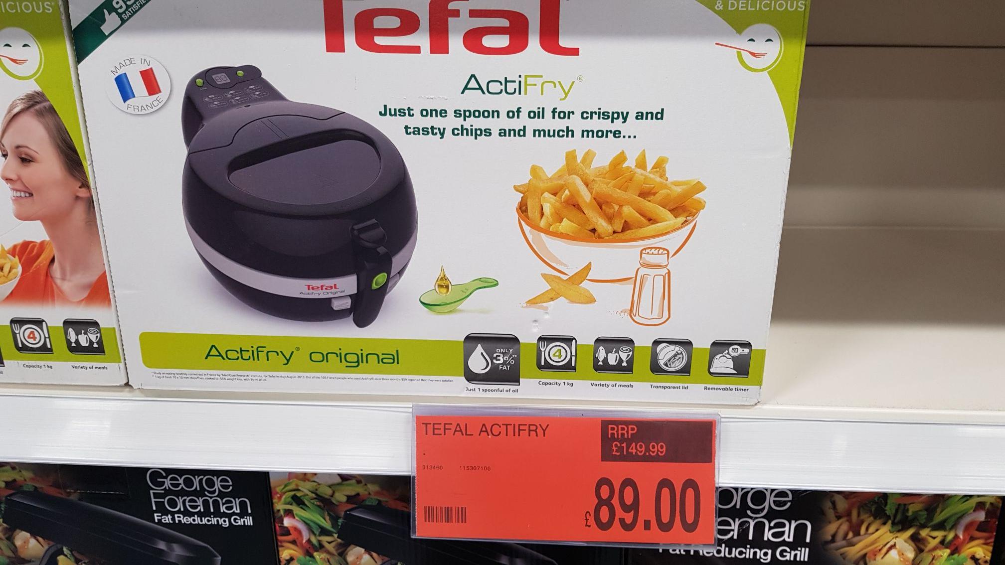 Tefal Actifry original 1kg £89 @ B&M