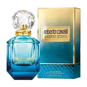Roberto Cavalli Paradiso Azzurro 75ml perfume with free Roberto Cavalli pouch now £20 delivered with code @ Fragrance Shop
