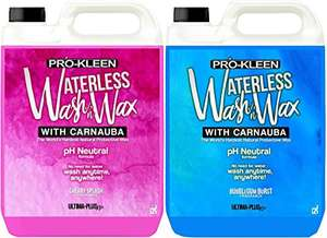 Pro-Kleen Ultima-Plus XP 2x5L (10 Litres) Waterless Wash & Wax - £19.99 Free delivery