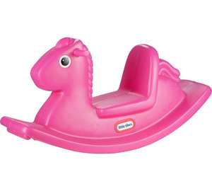 Little Tikes Rocking Horse - Pink Or Blue £18.74  C&C @ Very