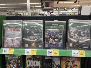 Range of XBOX ONE and PS4 games reduced at Tesco (From £5)