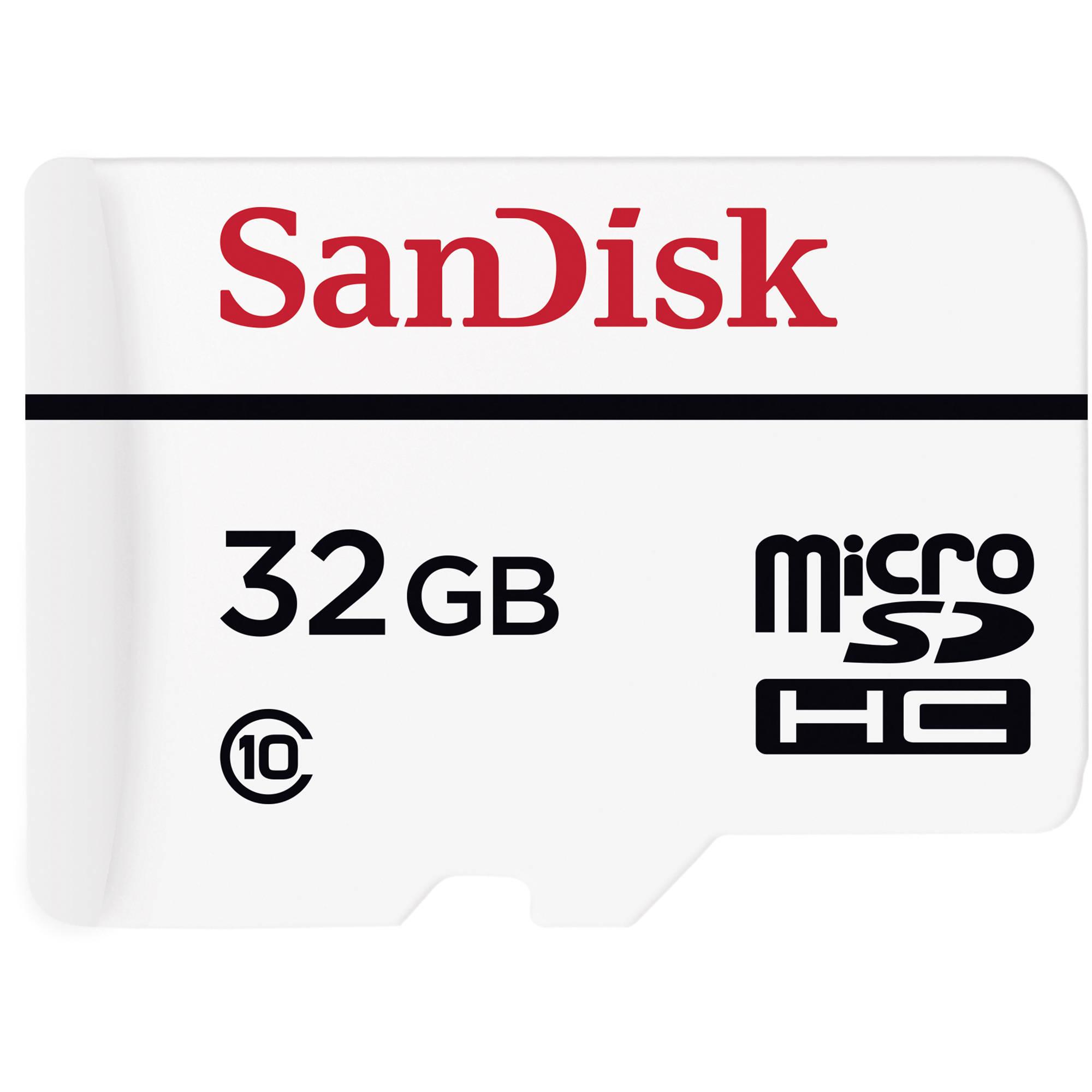 SanDisk High Endurance Video Monitoring microSDHC 32GB £12.86 @ buyur.co.uk