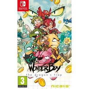 Nintendo Switch - Wonder Boy: The Dragon's Trap £19.95 from thegamecollection.net