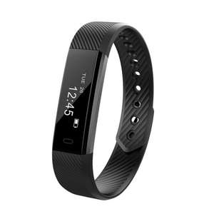 ID115HR Smart Bracelet Fitness Tracker with Heart Rate Monitor + free deliver £6.08 @ zapals