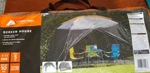 Gazebo - Ozark Trail Screen House £17.50 - Asda