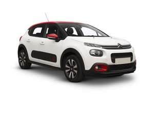 Citroen C3 Hatchback: Initial payment of £500.40 followed by 23 payments of £166.80 @ What Car? Leasing