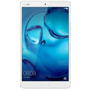 HUAWEI MediaPad M3 ( BTV-DL09 ) 4G Phablet Fingerprint Recognition including Leather case and headphones £177.79 Delivered with code (more in post) @ Gearbest