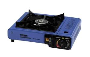 Halfords portable gas stove £8.  Free c&c.  Camping chairs now £6