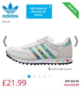 adidas Originals Junior LA Trainer Aloha Trainers sizes up to adult 6.5 Now £21.99 p&p £4.49 (other styles in post)