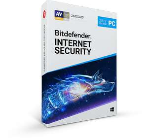 Bitdefender® Internet Security 2019, free for 6 months for 3 device