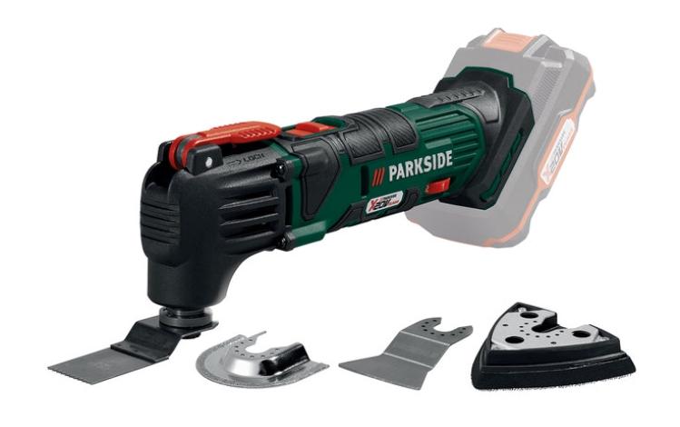 PARKSIDE 20V Li-Ion Cordless Multi-Purpose Tool on sale 19th August @ Lidl £19.99