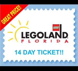 14 days ticket for Legoland Florida £30.03 at orlandoattractions.com
