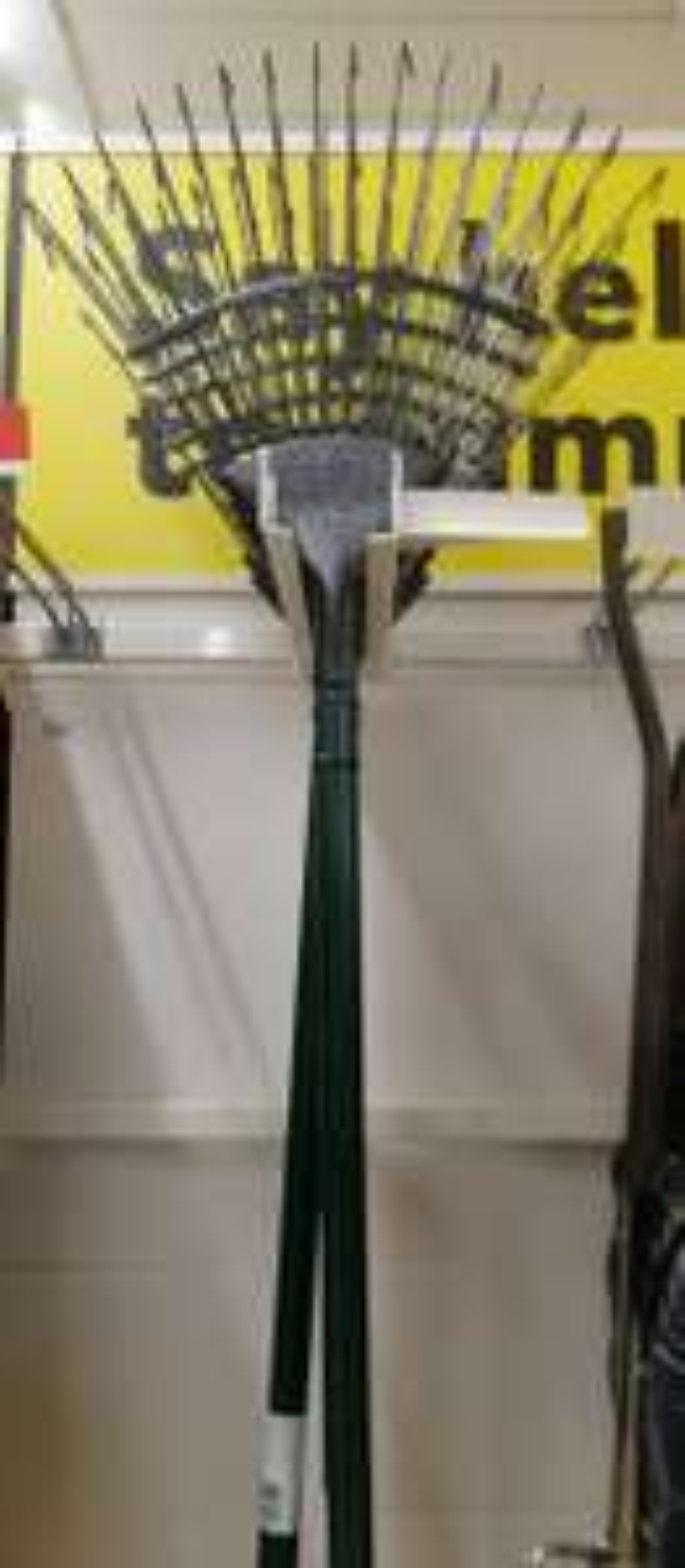 All metal Leaf rake for £1.50 at Sainsburys instore
