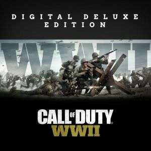 Call of Duty WW2 Digital Deluxe PS4 £41.99 at PSN