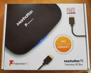 Manhattan T1 Freeview HD box £6.12 at Tesco instore