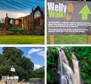 Bolton Abbey Yorkshire Free Family day out including Welly Walk & Pirate ship (£10 All day Parking)