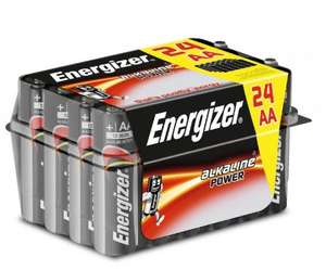 24 pack of AA or AAA Energizer batteries £2.99 wiith code in store only @ Ryman