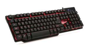 Cheap Backlit Mechanical-Feel Keyboard - Free Next Day Delivery £14.99 @ Ebuyer