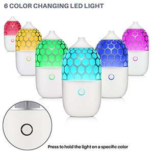 Sterline Ultrasonic aromatherapy oil diffuser with colour change led light, timer & 2 year guarantee £9 Prime / £13.49 non Prime delivered @ Amazon / Five Star