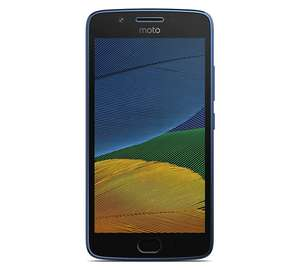 O2 Moto G5 Mobile Phone - Blue £104.99 @ Argos