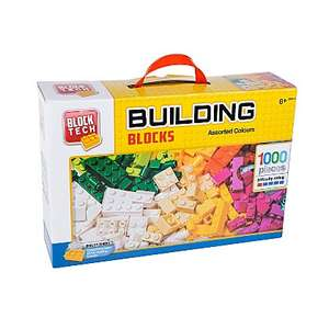 Block tech building blocks 1000 piece £5.21 down from £14 asda colchester