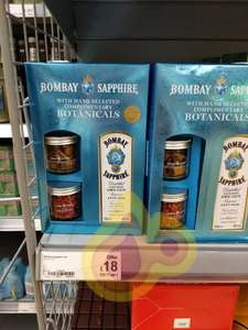 Bombay Sapphire gift box with botanicals for £18 instore in ASDA - scanning at £16!