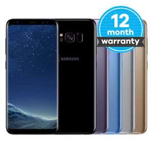 Samsung Galaxy S8 SM-G950F - 64GB - Midnight Black / Arctic Silver - Refurb Good - O2 / Vodafone £289.99 @ Music Magpie / Ebay