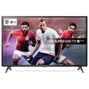 """LG 43UK6300PLB 43"""" UHD 4K HDR Smart TV with Freeview Play £364 Delivered with code @ Hughes"""