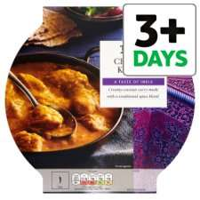 Tesco dine in for £5 curry meal deal - two mains and two sides - better than half price!