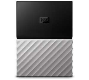 WD My Passport Ultra 4TB Portable Hard Drive - Black/ Silver £89.99 @ Argos