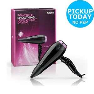 BaByliss 5335KU 2200 Keratin Shine Ceramic Standard Hair Dryer  £22.99 Argos Ebay