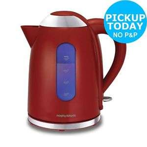 Morphy Richards 1.7L Cordless Accents Dome Kettle - Red. £22.99 Argos Ebay
