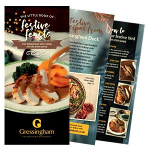Free Dine in with Duck Handbook worth £14.99 @GressinghamDuck